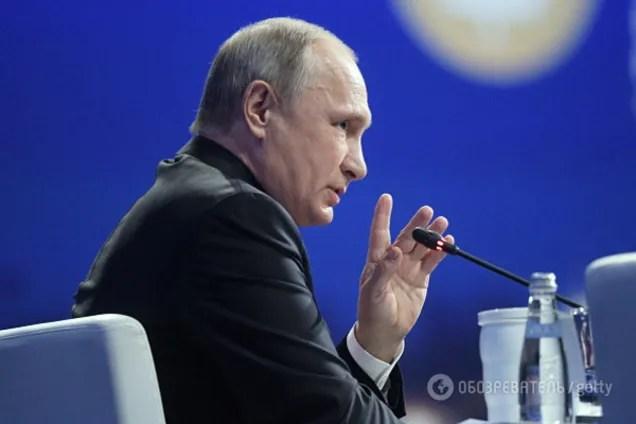 Это просто истерия какая-то: Путин рассказал о контактах ...