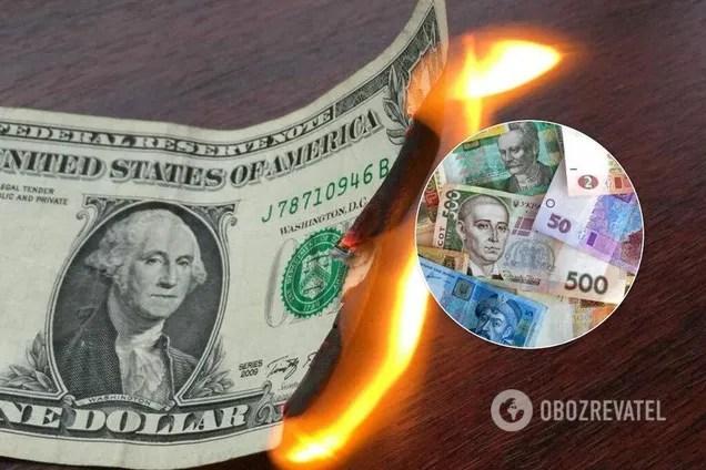 Национальный банк Украины в среду, 4 марта, зафиксировал официальный курс гривни по отношению к доллару на отметке 24,89 грн/$
