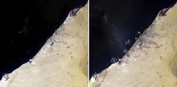 Что человек делает с Землей - фото со спутника | Обозреватель