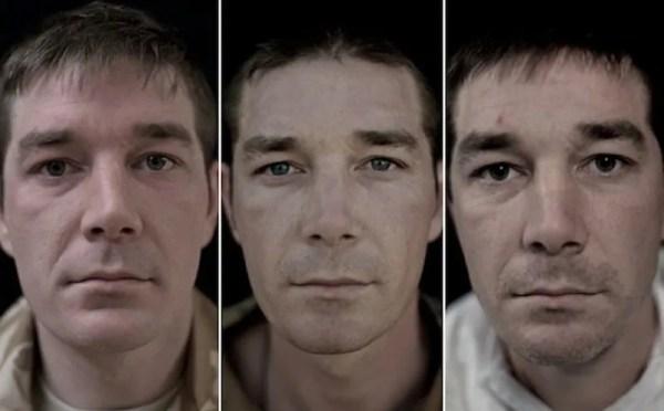 Глаза солдат до и после войны. Фото, от которых бегут ...