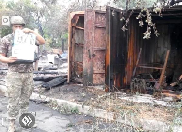 Война на Донбассе: штаб АТО обнародовал фото последствий ...