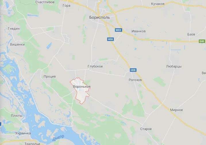 Вбивство трапилося в районі села Вороньків