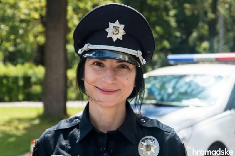 Майя Бреславська була першою жінкою-командиром у Патрульній поліції