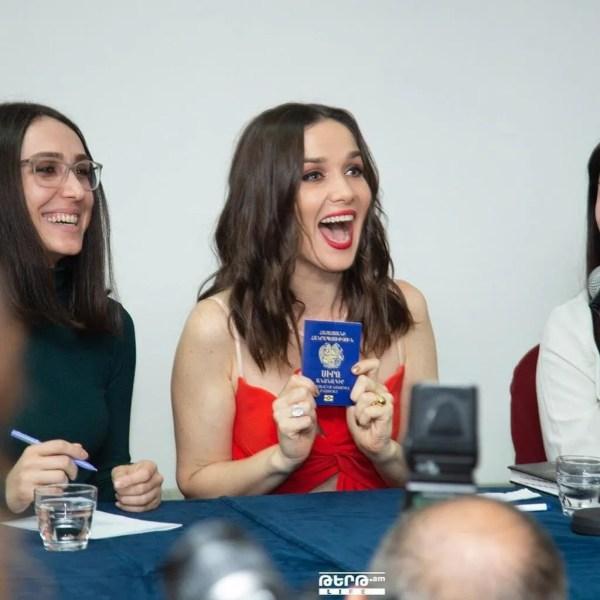 Наталья Орейро получила паспорт в Армении - новости шоу ...