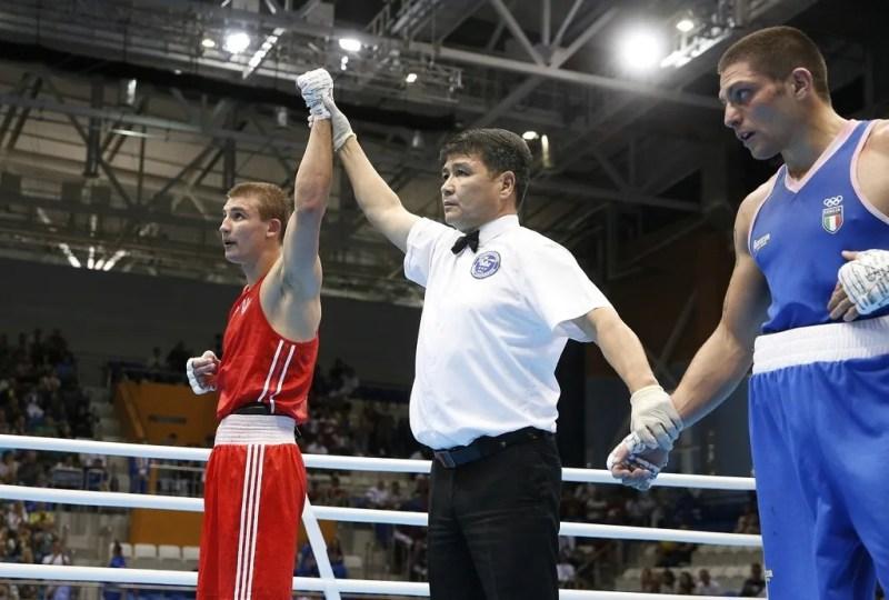Олександр Хижняк – бокс. Перемога у ваговій категорії до 75 кг