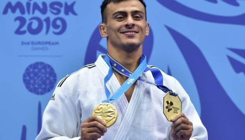 Георгій Зантарая – дзюдо. Перемога в напівлегкій вазі до 66 кг.