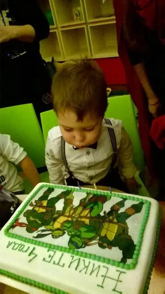 Торт для сына
