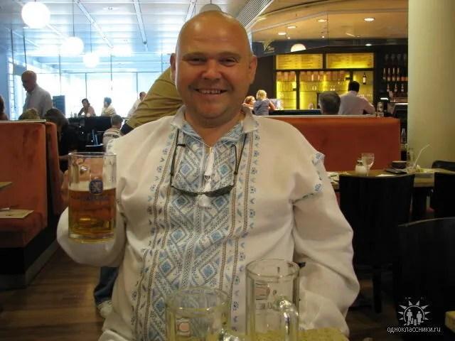 Олександр Головач на відпочинку