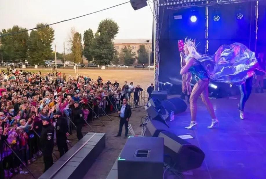 Полякова виступила з концертом у Харкові.