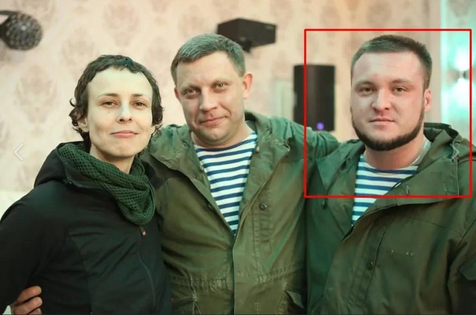 Російська співачка Юлія Чичеріна, Олександр Захарченко та Сергій Завдовєєв.