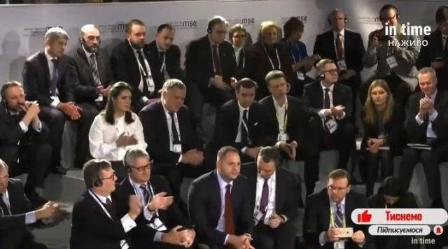 Реакция зала на шутку Зеленского