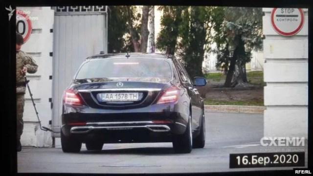 Авто, которое якобы принадлежит Ахметову