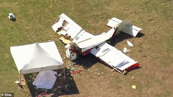 В Австралии пилот разбился на самодельном самолете возле ...