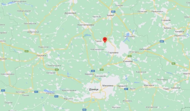 Возле поселка Шумы Донецкой области ВСУ не обустраивали инженерные сооружения.