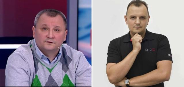 Сергій Кравченко й Андрій Александрін