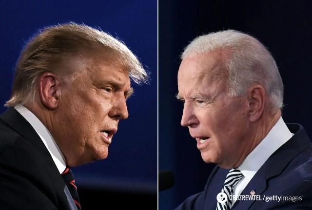 Демократ Джо Байден выиграл президентские выборы в США у республиканца Дональда Трампа