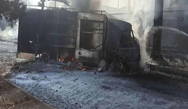 В Иране произошли пожар и взрывы на химзаводе - видео