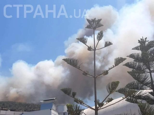 Пожежі в Бодрумі