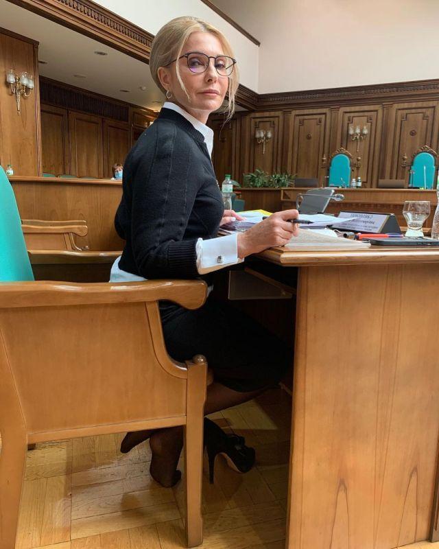 Юлія Тимошенко у Верховній Раді