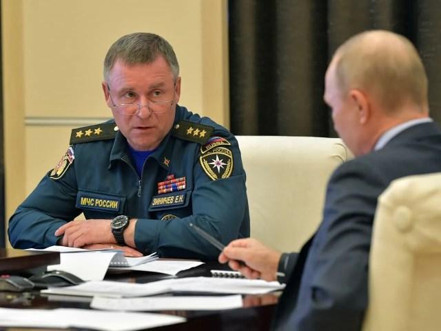 Зінічев був призначений главою МНС з 18 травня 2018 року