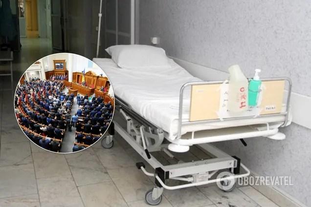 Нардепы потребовали VIP-условий в больнице, где лечат зараженных коронавирусом