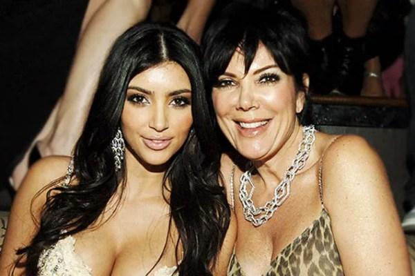 Ким Кардашьян показала фото 64-летней матери в бикини: в ...