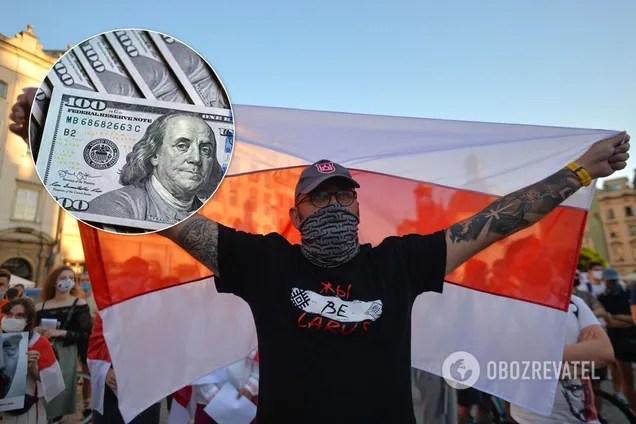Протесты в Беларуси: курс беларусского рубля упал, сколько ...
