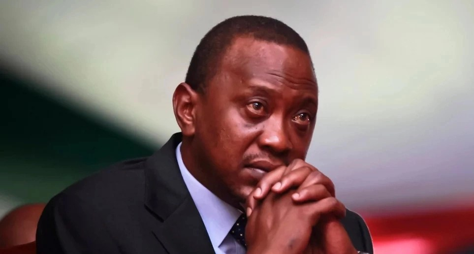 President Uhuru Kenyatta punches Hassan Joho below the belt