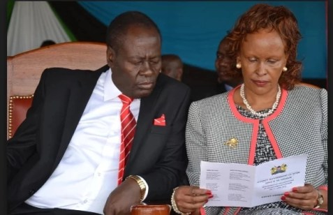 Governor Nderitu Gachagua is dead