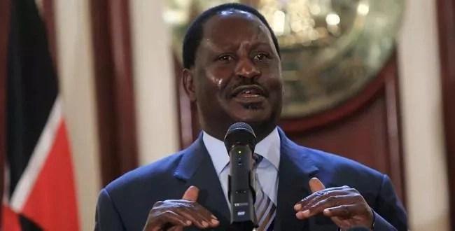 Woman burns close to half a million to heap praise on Raila Odinga