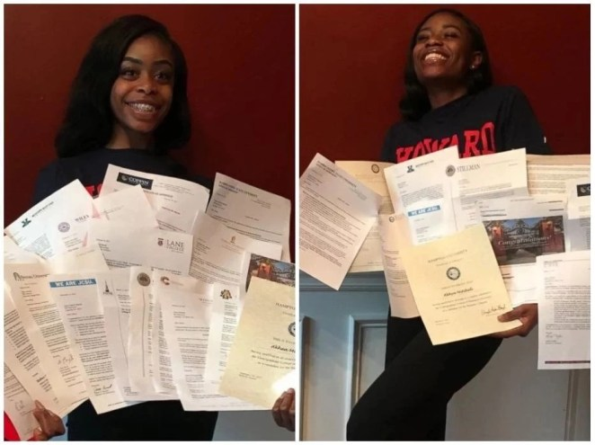 Twins receive 40 college acceptances from 15 different states, Ghc3.6m in scholarship