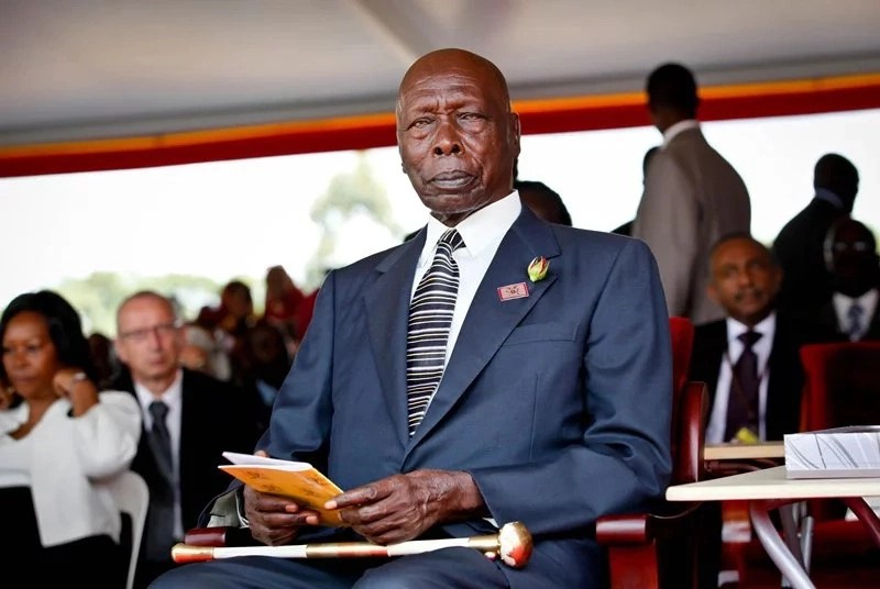 Kenyans on social media give reasons why Moi has never fallen ill