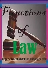 Functions of the Nigerian Law