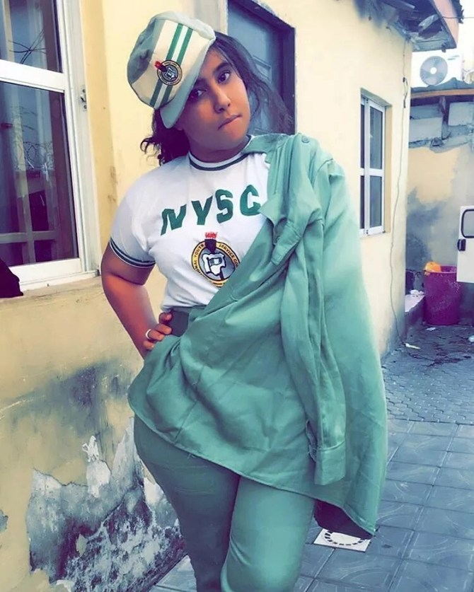smngoz22mr0mslm68.9438e01d - NYSC Most beautiful , Sexy , Dope , Frosh and Delicious Female Corps Members