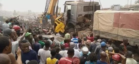 Abuja Truck Accident – 1 Killed, 4 Injured