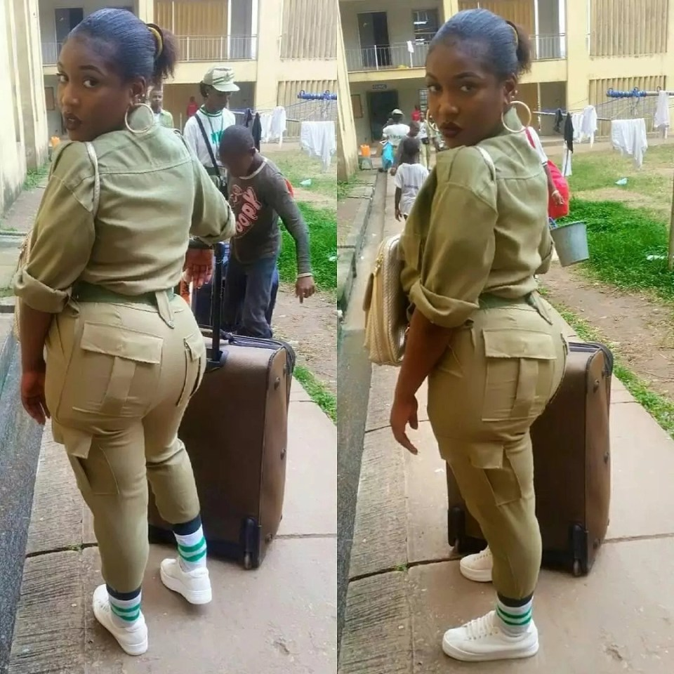smngoz4v19cu4bff4.b4f04c95 - NYSC Most beautiful , Sexy , Dope , Frosh and Delicious Female Corps Members