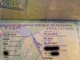 How To Get Tanzania Visa In Nigeria