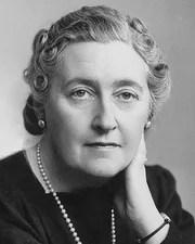Novelist Agatha Christie