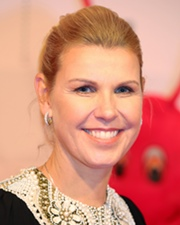 Tennis Player Anke Huber