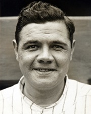 Baseball Legend Babe Ruth