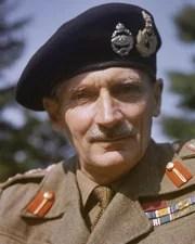 Soldier, British Field Marshal Bernard Law Montgomery