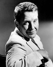 Actor Burgess Meredith