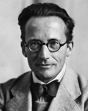 Physicist and Nobel Laureate Erwin Schrödinger