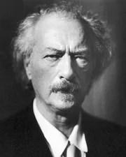 Panist, Composer and Polish Prime Minister Ignacy Jan Paderewski