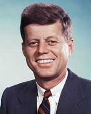 35th US President John F. Kennedy
