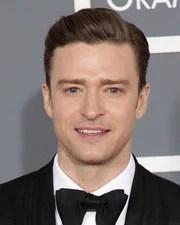 Singer-songwriter Justin Timberlake