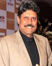 Cricketer Kapil Dev
