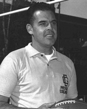 NFL Quarterback Otto Graham