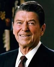 US President & Actor Ronald Reagan