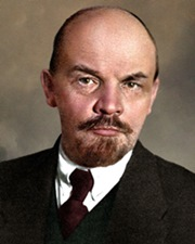 Marxist Revolutionary and Russian Leader Vladimir Lenin